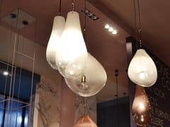 LAMPADA A SOSPENSIONE IN VETROFLOU - ADRIANI E ROSSI EDIZIONI