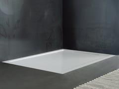 Piatto doccia incassato in Solid Surface su misuraFLOW | Piatto doccia incassato - KAROL ITALIA
