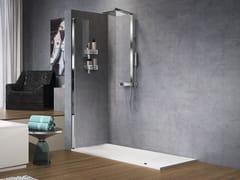 Colonna doccia a parete in ottone cromatoFLOW - NOVELLINI