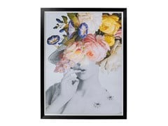 Stampa su carta FLOWER LADY PASTEL - KARE DESIGN