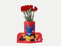 Vaso in tessuto FLOWER POWER L RELAX 01 - Cosas