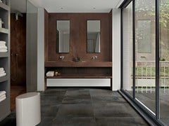 Floor Gres, FLOWTECH Pavimento/rivestimento in gres porcellanato effetto metallo