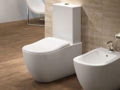 Wc monoblocco in ceramica FLUID | Wc monoblocco - Fluid
