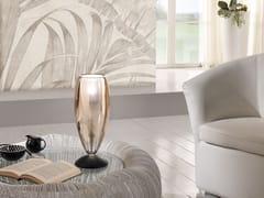 Lampada da tavolo in vetro borosilicato metallizzatoFLUTE | Lampada da tavolo - CANGINI & TUCCI