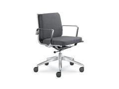 Sedia ufficio imbottita in tessutoFLY 702 - LD SEATING