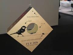 Mangiatoia per uccelli in cartoneFLY INN - SHOWROOM FINLAND