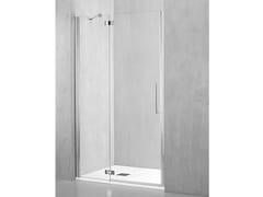 Box doccia a nicchia con porta a battenteFO-PBA - TDA