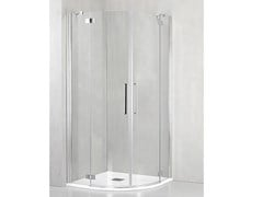 Box doccia angolare semicircolare con porta a battenteFO-T55 - TDA