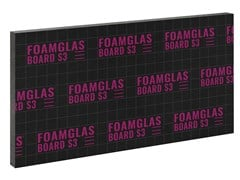 Pannello termoisolante in vetroFOAMGLAS® BOARD S3 - FOAMGLAS ITALIA