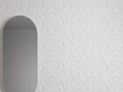 Impronta Ceramiche, FORME BIANCHE FOLIAGE Rivestimento tridimensionale in ceramica a pasta bianca