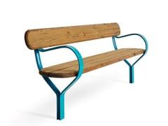 VESTRE, FOLK | Panchina con schienale  Panchina con schienale