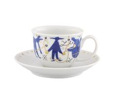 Tazza da caffè in porcellana con piattinoFOLKIFUNKI | Tazza da caffè - VISTA ALEGRE