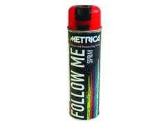 METRICA, FOLLOW ME SPRAY Marcatore spray da cantiere