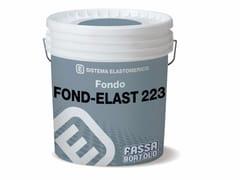 FASSA, FOND ELAST 223 Fondo elastomerico uniformante ad effetto intonaco fine