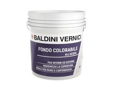 Fondo all'acqua liscio colorabileFONDO COLORABILE - CROMOLOGY ITALIA