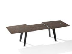 Tavolo allungabile rettangolare in pietra naturale FONTANA | Tavolo allungabile -