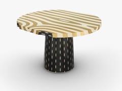 Tavolo da pranzo rotondo in legnoFOREST | Tavolo rotondo - SCARLET SPLENDOUR DESIGNS PVT