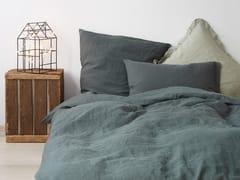 Coordinato letto a tinta unita in linoFOREST GREEN | Coordinato letto - BALTIC FLAX, UAB