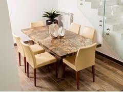 Tavolo rettangolare in marmo Rain ForestFOREST   Tavolo - R.G. SERVICE