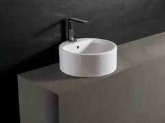 Lavabo rotondo in ceramicaFORM 46 ROUND | Lavabo - ALICE CERAMICA
