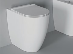 Wc in ceramica FORM SQUARE H 50 | Wc - ALICE CERAMICA