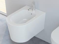 Bidet sospeso in ceramicaFORM SQUARE | Bidet sospeso - ALICE CERAMICA