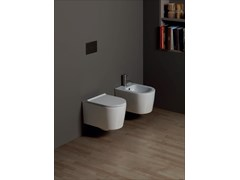 Wc sospeso in ceramica FORM SQUARE | Wc sospeso - ALICE CERAMICA