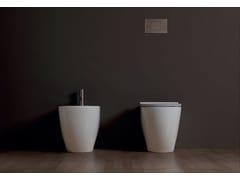 Wc in ceramica a pavimentoFORM SQUARE | Wc a pavimento - ALICE CERAMICA