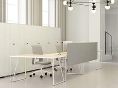 Banco reception per ufficio modulareFORMS | Banco reception per ufficio - METALÚRGICA DO LEVIRA