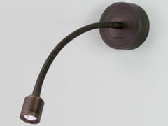 Lampada da lettura a LED in zinco con braccio flessibileFOSSO - ASTRO LIGHTING