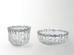 Tavolino basso rotondo in cristalloFOUNTAIN - GLAS ITALIA
