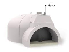 Forno a legna in ceramica refrattaria per pizzaFP100 | Forno a legna - EDILMARK