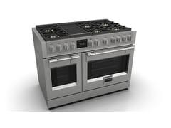 Cucina a libera installazione in acciaio inoxFSRC 4807 2P MK 2F | Cucina a libera installazione - FULGOR MILANO BY MENEGHETTI