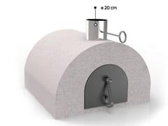 Forno a legna in ceramica refrattaria per pizzaFR1600 | Forno a legna - EDILMARK