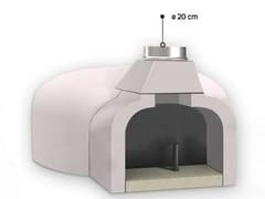 Forno a legna in ceramica refrattaria per pizzaFR95 | Forno a legna - EDILMARK