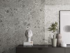 Pavimento/rivestimento in gres porcellanato effetto pietraFRAGMENTA FULL BODY GRIGIO MILANO - ARIOSTEA