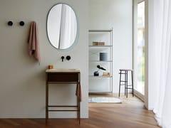 Mobile lavabo da terra laccato in legno con ante FRAME   Mobile lavabo da terra - Frame