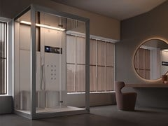 Box doccia multifunzione con idromassaggioFRAME IN2 - JACUZZI® EUROPE