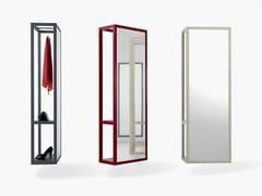 Specchio rettangolare con contenitore da pareteFRAME | Specchio con contenitore - FANTIN