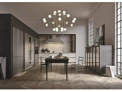 Cucina lineare senza maniglie FRAME | Cucina lineare - ICONE
