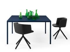 Tavolo quadrato in metalloFRAME | Tavolo quadrato - FANTIN