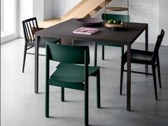 Tavolo quadrato in Fenix-NTM®FRAME | Tavolo - FANTIN