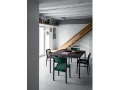 Tavolo quadrato in Fenix-NTM®FRAME   Tavolo - FANTIN