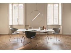 Tavolo ovale in legno impiallacciatoFRAMETABLE 240 - 498_240 - ALIAS