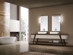 Mobile lavabo da terra in legno FRATINO 03 - Fratino
