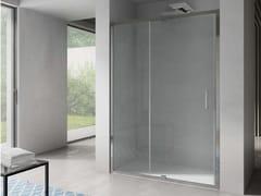 Box doccia a nicchia rettangolare con porta a battenteFREE | Nicchia porta a battente su lato - DISENIA