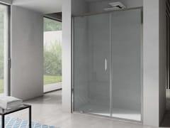 Box doccia a nicchia rettangolare con porta a battenteFREE | Nicchia porta a battente su muro - DISENIA