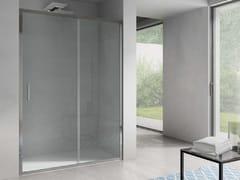 Box doccia a nicchia rettangolare con porta scorrevoleFREE | Nicchia - Porta scorrevole - DISENIA