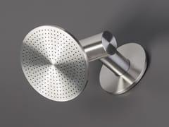 Ceadesign, FREE IDEAS 216 Soffione doccia a muro a pioggia orientabile in acciaio inox