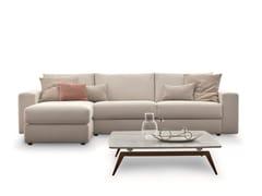 Divano letto in tessuto in stile moderno a 2 posti a 3 posti con chaise longueFREEDOM   Divano con chaise longue - DITRE ITALIA